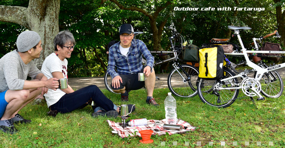 Outdoor cafe with Type SPORT